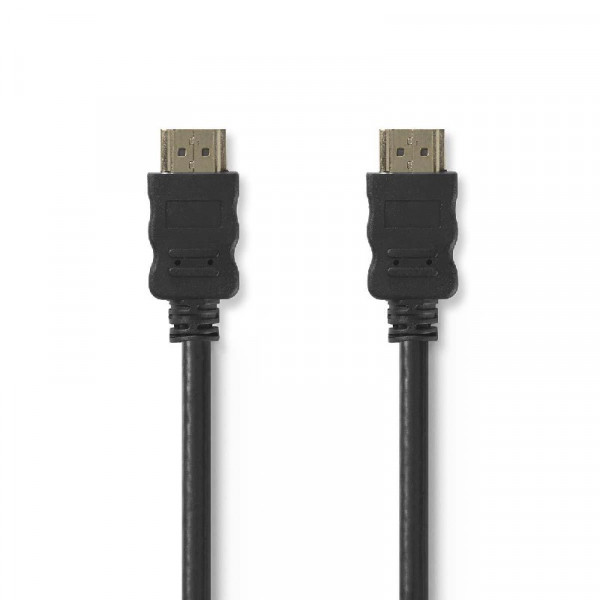 High Speed HDMI kabel met Ethernet 15m Zwart