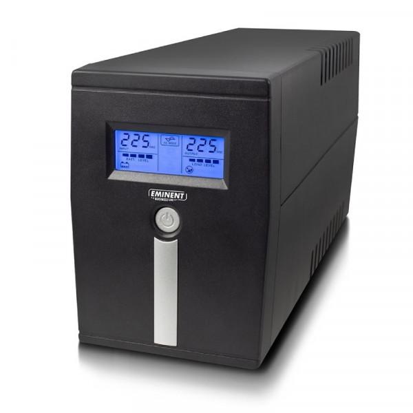 UPS Noodstroomvoorziening 360W met AVR-functie 1x Type F, 1x USB en 1x IEC C13
