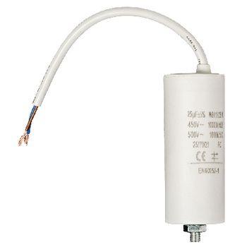 Condensator 25.0uf / 450 V + cable