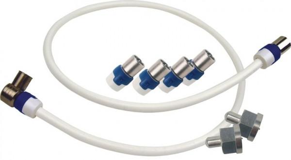 Hirschmann Aansluitset KOKA9 TS 0,5m + connectoren & Afsluitweerstanden