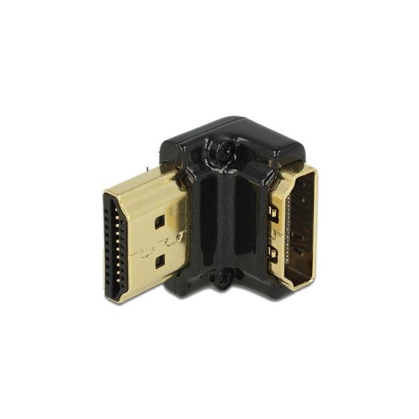 HDMI 2.0 adapter haaks naar onder