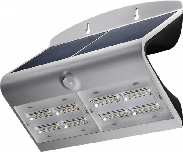 Goobay Solar Wandlamp LED met Bewegingssensor 6.8W Zilver