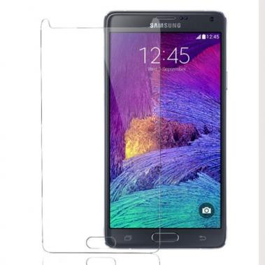 Tempered Glass Clear voor Samsung Galaxy Note 4