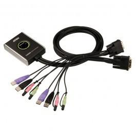 Aten CS682 2-Poorts DVI+USB+Audio KVM Switch