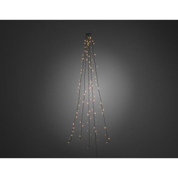 Konstsmide LED Lichtmantel voor Kerstboom 180cm