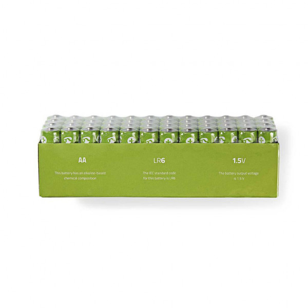 48x Alkaline batterij AA 1,5V