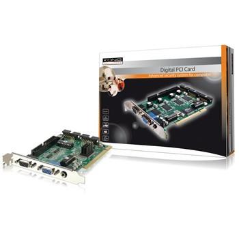 KÖNIG 4-kanaals beveiligings PCI kaart