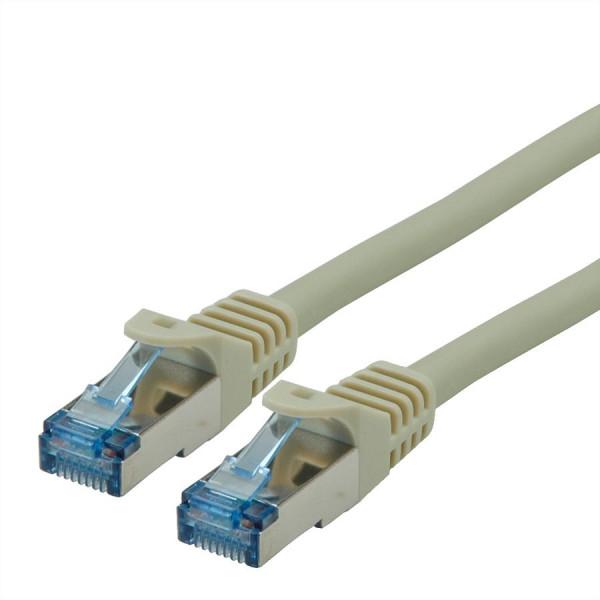 Roline SFTP patchkabel Cat6a LSZH grijs 1m