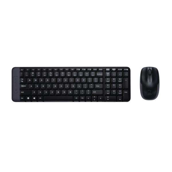 Logitech MK220 Draadloos Toetsenbord en muis