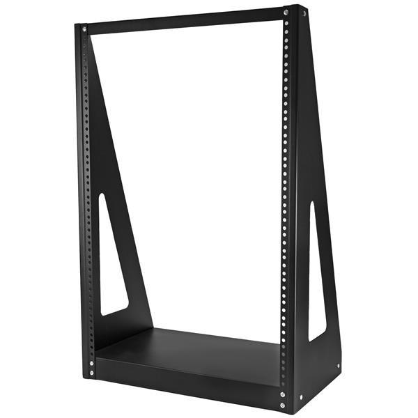 StarTech Heavy duty rack met twee stijlen - Stevig open-frame serverkast - 16U