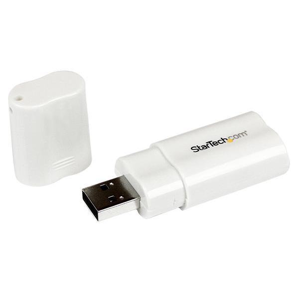 StarTech USB naar Stereo Audio Adapter Geluidskaart