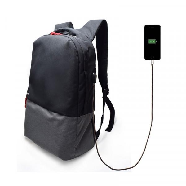 """Ewent 17,3"""" Urban Rugzak met USB laadpoort"""
