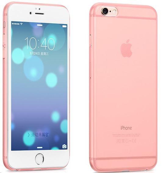 Hoco Dunne PC case voor iPhone 6 Plus/6S Plus Roze