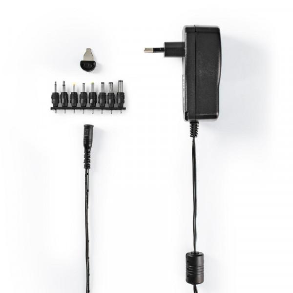 Universele adapter 3 - 12 V met 8 pluggen