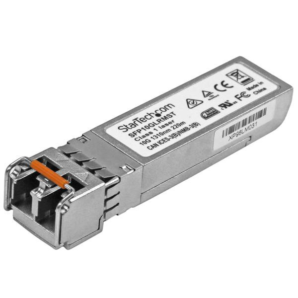 StarTech 10 Gigabit Fiber SFP+ Transceiver Module - Cisco SFP-10G-LRM Compatibel - MM LC - 220m