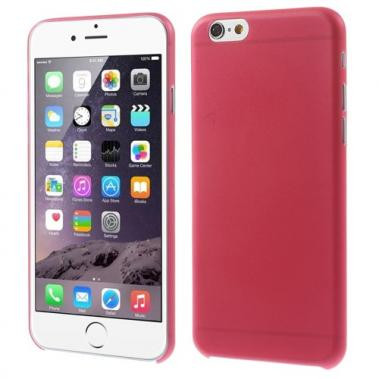 Ultra dunne Hardcase voor iPhone 6/6S Rood