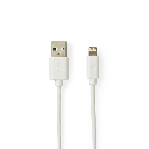Data en Oplaadkabel Apple Lightning 2m Wit