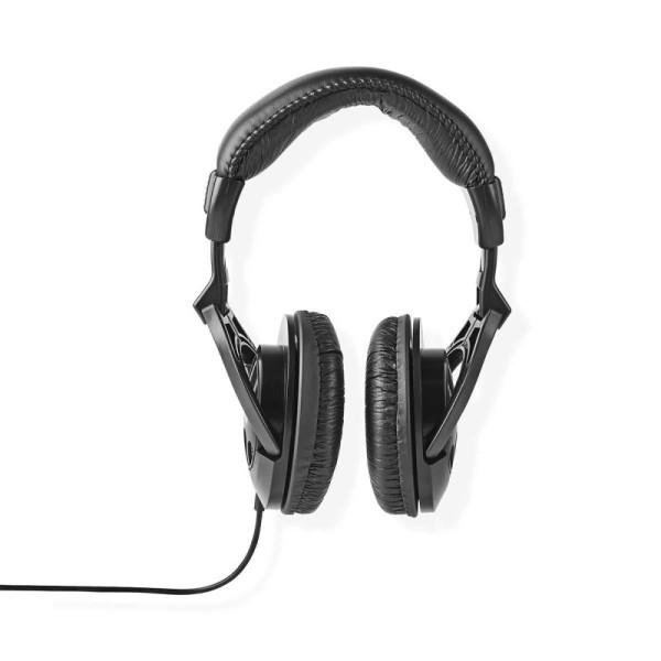 Stereo Hoofdtelefoon - 1x 3,5mm Jack - 2 meter - Zwart