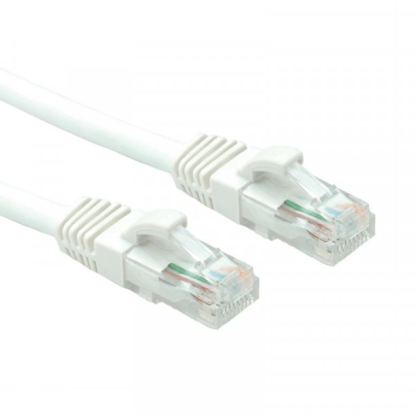 UTP Cat6a Patchkabel 0,3m Wit CU