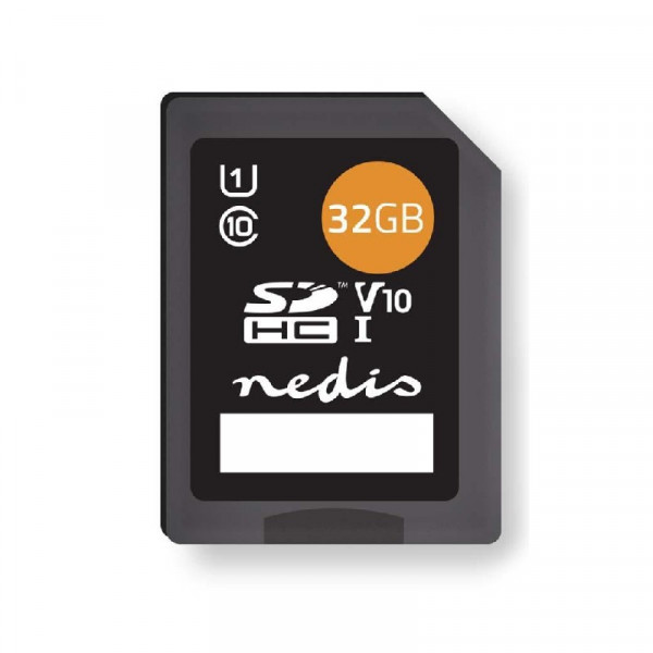 SDHC kaart 32 GB - klasse 10 Zwart