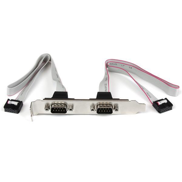 StarTech 2-poort 40cm DB9 Seriële Poort Bracket naar 10-pins Moederbord
