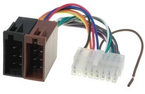 ISO kabel voor PIONEER (33x7,5mm) autoradio DEH uitvoering
