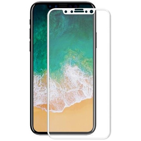 Tempered Glass Screenprotector Iphone X Wit