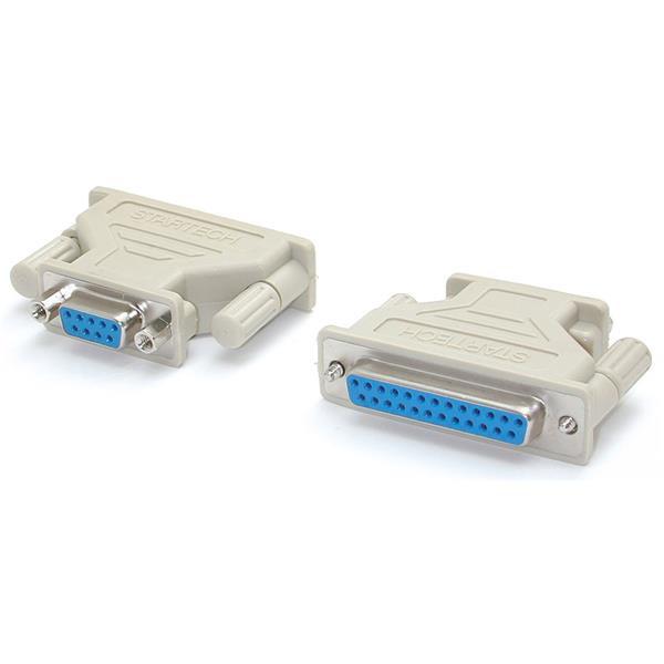 StarTech DB9-naar-DB25 seriële kabeladapter - F/F