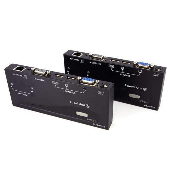StarTech Lange Afstand USB VGA KVM Console-Verlenger via Cat5 UTP - 300 m