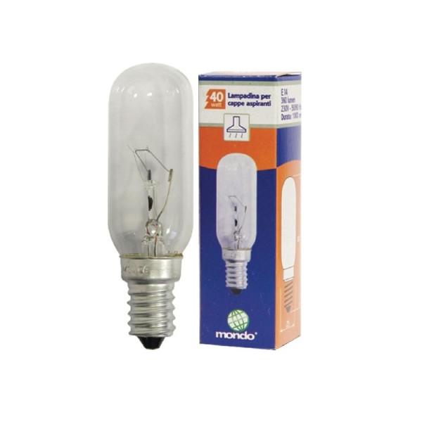 Afzuigkaplamp E14 40W