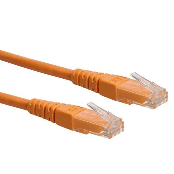 ROLINE UTP patchkabel Cat6 oranje 5m