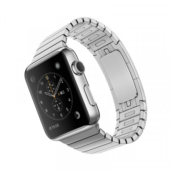 Chain Metalen bandje voor Apple Watch 38/40mm Zilver