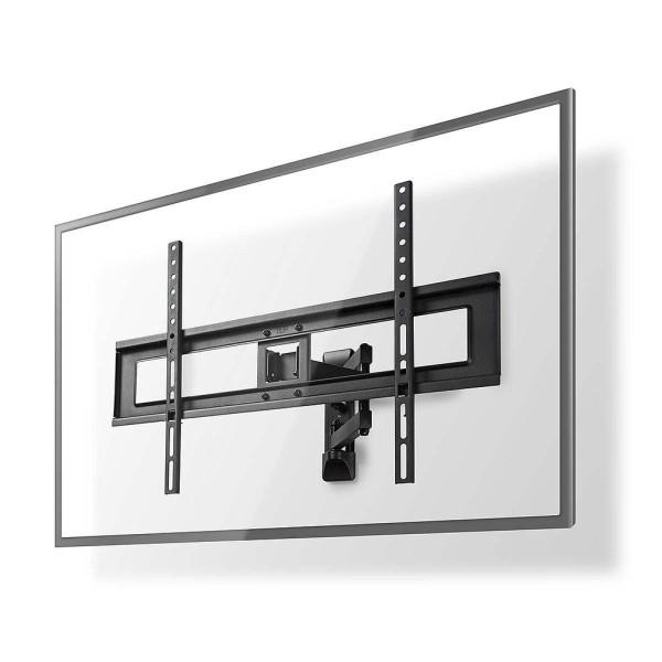 TV muurbeugel draai en kantelbaar 37 - 70 inch Max. 35 kg Zwenkbaar Zwart (3 scharnier punten)