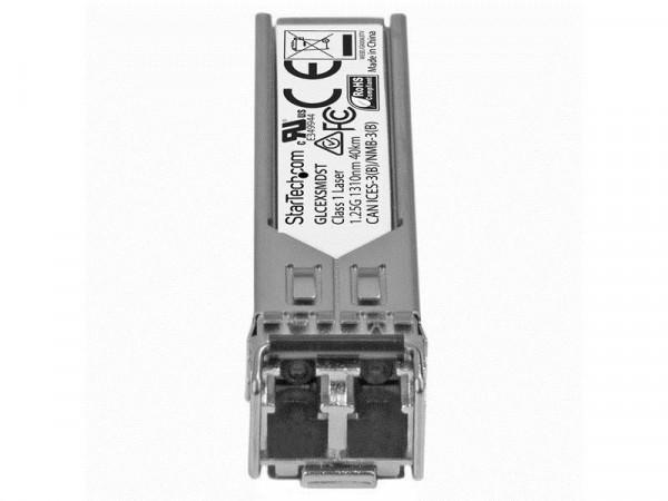 StarTech Gigabit glasvezel 1000Base-EX SFP ontvanger module - Cisco GLC-EX-SMD compatibel - SM LC -