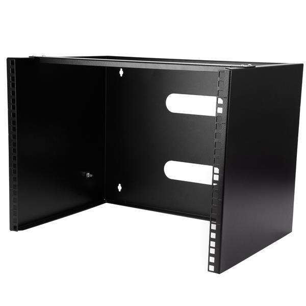 """StarTech Wand monteerbaar rack voor 12""""/30 cm apparatuur - wandkast - massief staal - 8U"""