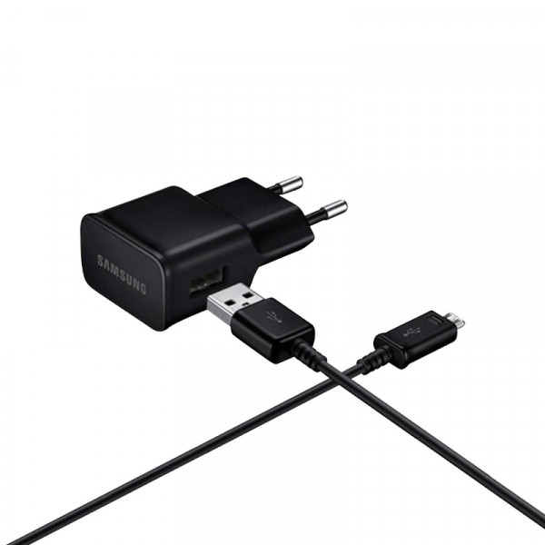 Samsung 2A USB Thuislader Zwart