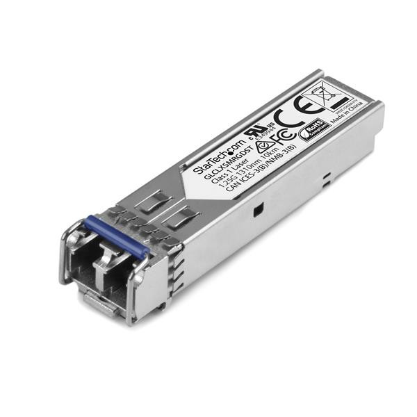 StarTech Gigabit glasvezel 1000Base-LX SFP ontvanger module - Cisco GLC-LX-SM-RGD compatibel - SM