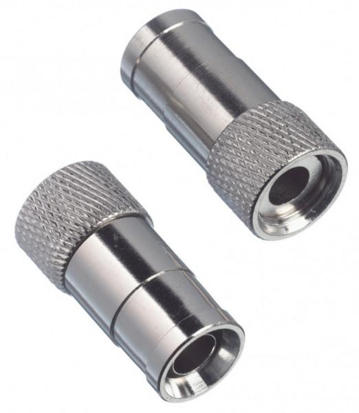 Hirschmann F-connector push-on 10x
