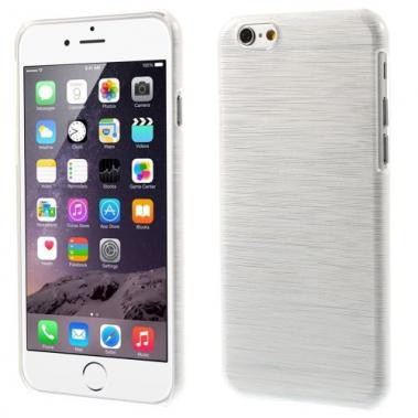 Hard Case voor iPhone 6/6S Brushed Wit