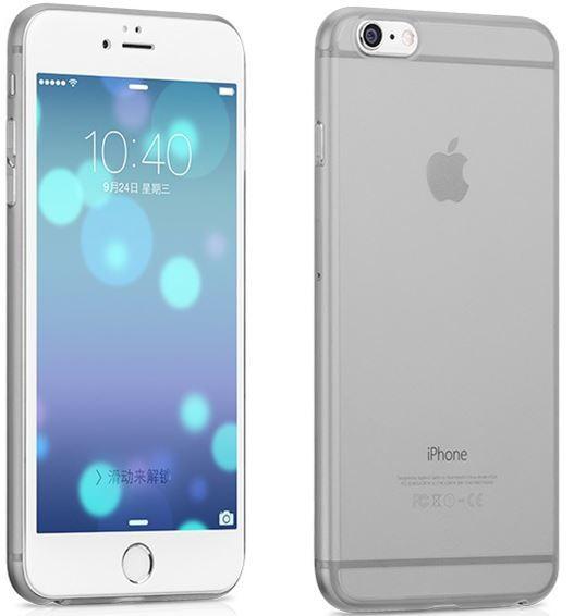 Hoco Dunne PC case voor iPhone 6/6S Grijs