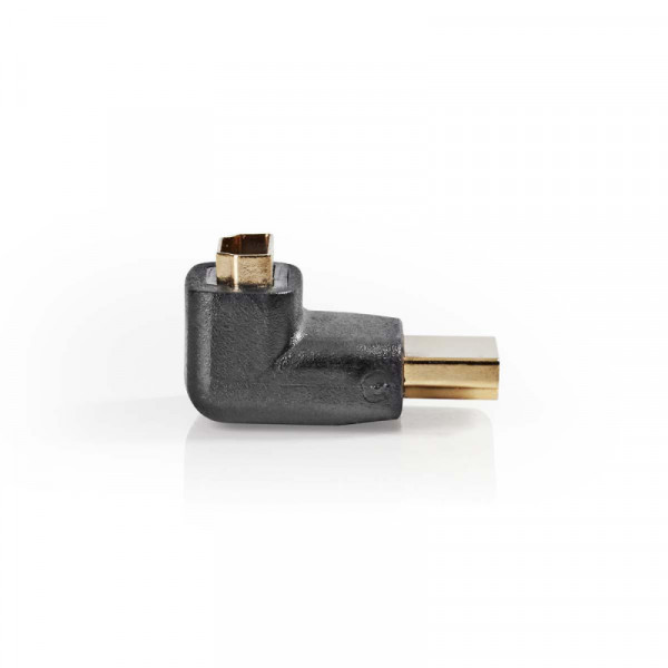 Haakse HDMI adapter Verguld 270°