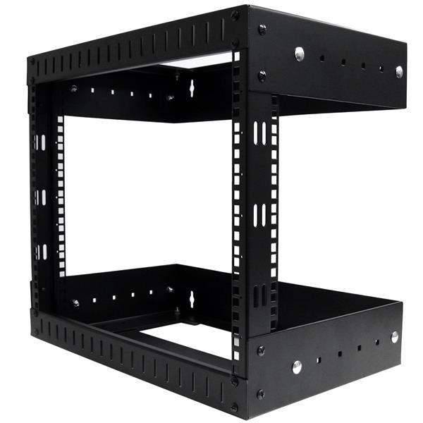 StarTech 8U Open Frame Rack Wandmontage – Verstelbare Diepte