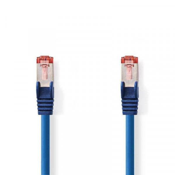 SF/UTP patchkabel netwerkkabel CAT6 blauw 2m