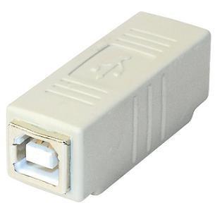 USB B vrouwelijk - USB B vrouwelijk Adapter
