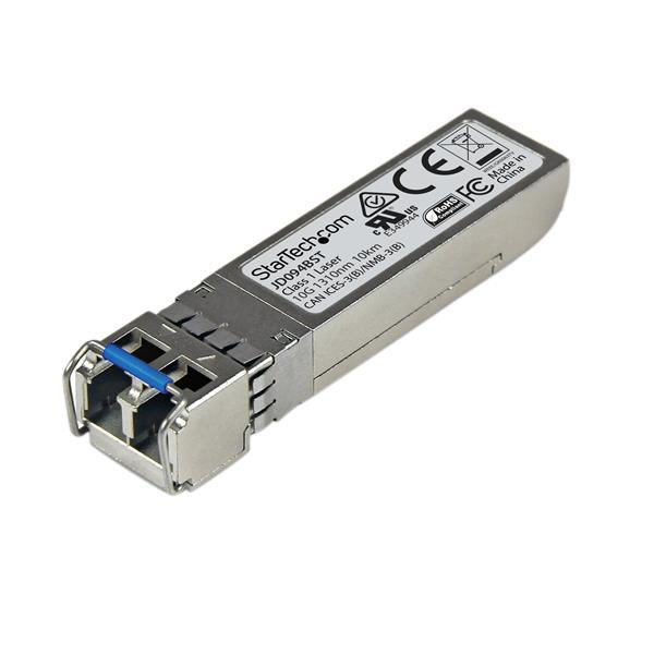 StarTech 10 Gigabit glasvezel 10GBase-LR SFP+ ontvanger module - HP JD094B compatibel - SM LC - 10 k