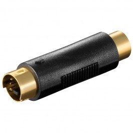 S-VHS - Composiet tulp adapter female