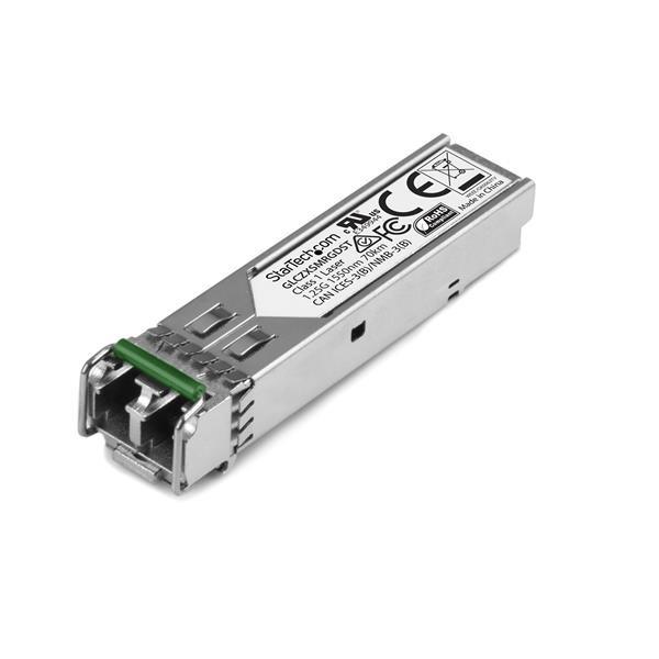 StarTech Gigabit glasvezel 1000Base-ZX SFP ontvanger module - Cisco GLC-ZX-SM-RGD compatibel - SM LC
