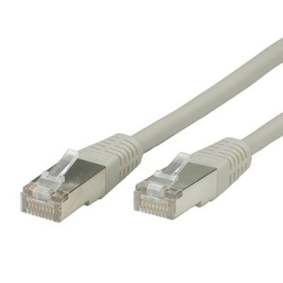 ROLINE S/FTP patchkabel Cat6 grijs 1m