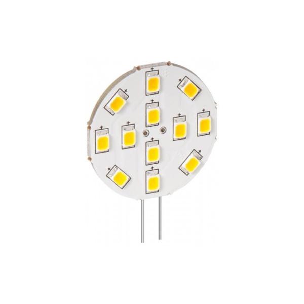 G4 LED lamp / inbouwspot rond - 2W warm wit