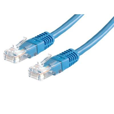 ROLINE UTP patchkabel Cat5e blauw 2m